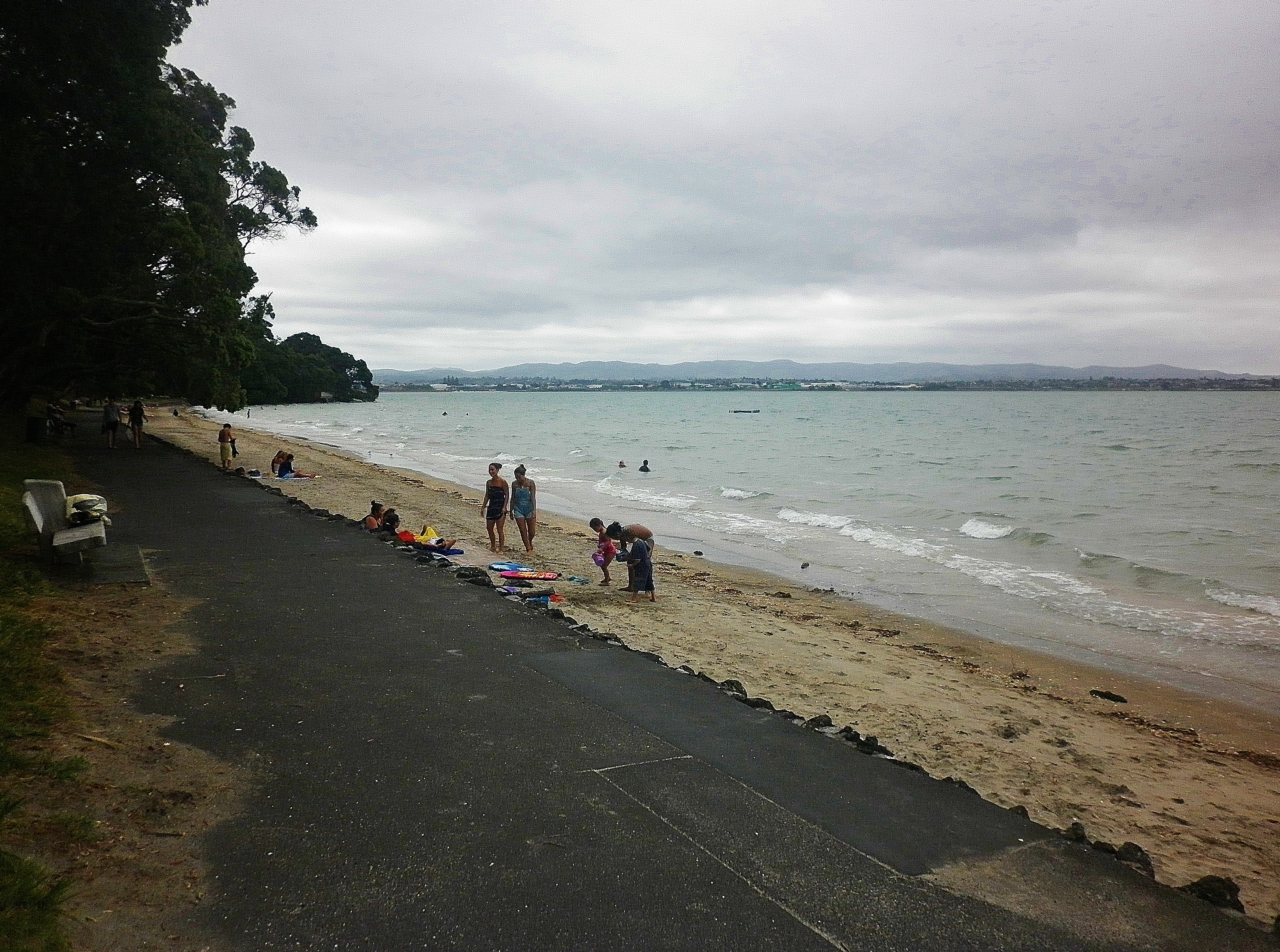 Point Chevalier Beach On January 22 At 1222pm A Beach A Day