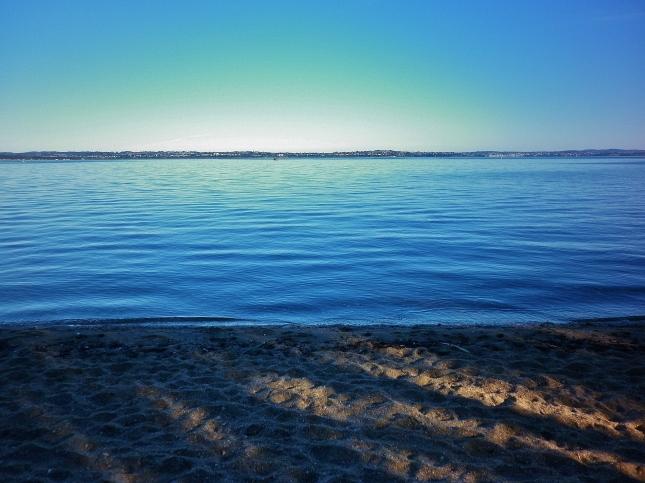 A very calm morning at Pt Chevalier beach